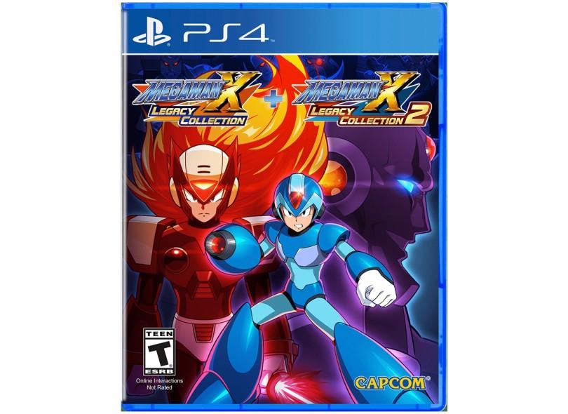 Jogo Mega Man X Legacy Collection 1 & 2 PS4 Capcom