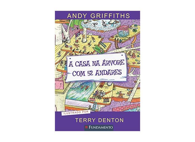 A Casa na Árvore Com 52 Andares - Griffiths, Andy - 9788539514786
