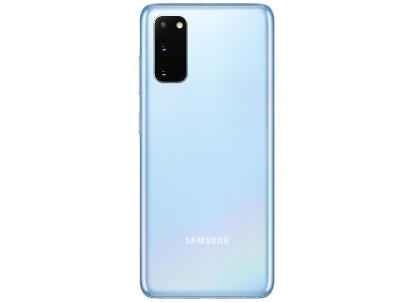Smartphone Samsung Galaxy S20 128GB Câmera Tripla 2 Chips Android 10