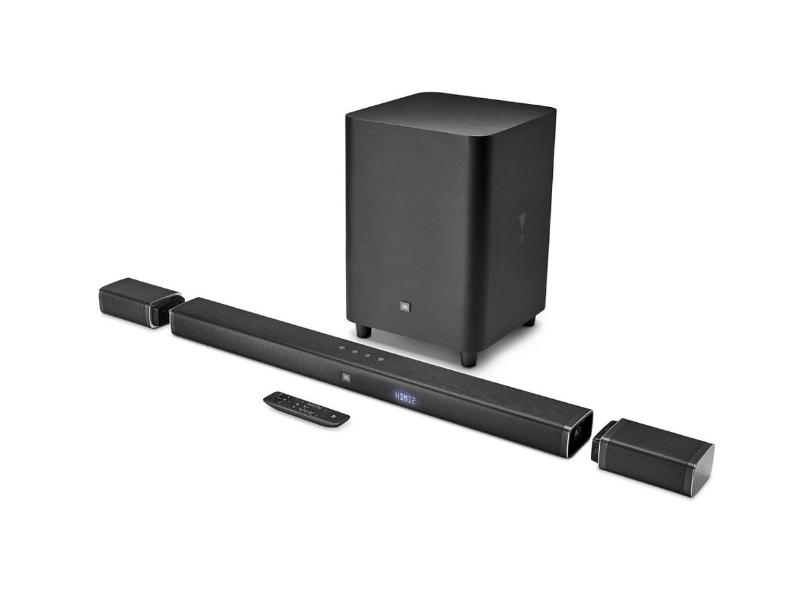 Home Theater Soundbar JBL 218 W 5.1 Canais 3 HDMI BAR