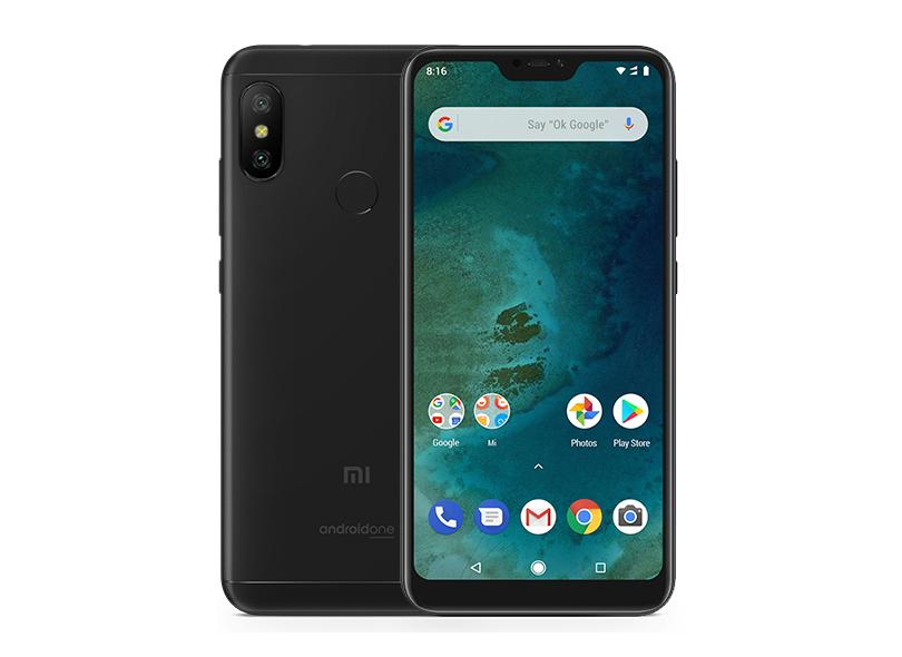 Smartphone Xiaomi Mi A2 Lite 64GB 12.0 MP 2 Chips Android 8.1 (Oreo) 3G 4G