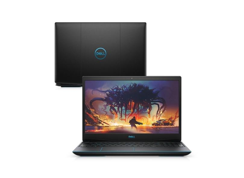 "Notebook Dell Intel Core i5 9300H 9ª Geração 8.0 GB de RAM 256.0 GB 15.6 "" Full GeForce GTX 1050 Linux G3-3590-U40P"