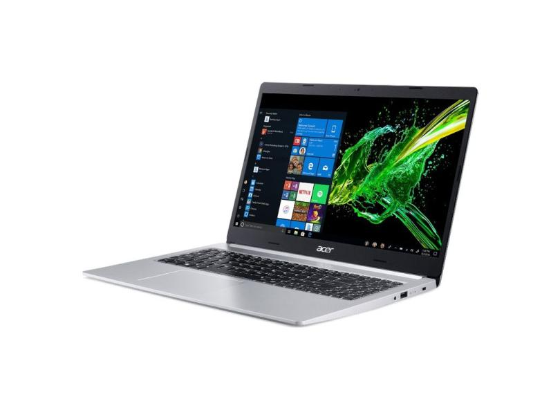 "Notebook Acer Aspire 5 Intel Core i5 10210U 10ª Geração 8.0 GB de RAM Híbrido 256.0 GB 15.6 "" Windows 10 A515-54G-53GP"