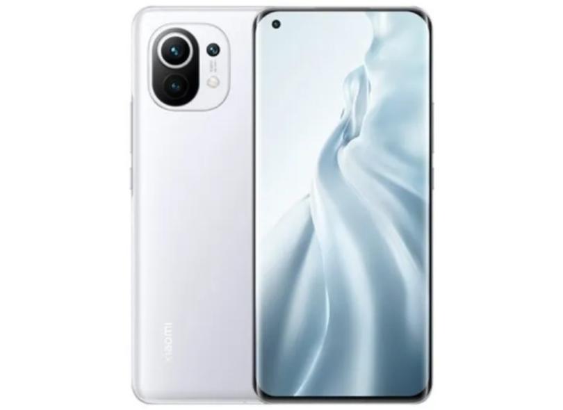 Smartphone Xiaomi Mi 11 5G 8 GB 256GB Câmera Tripla 2 Chips Android 11