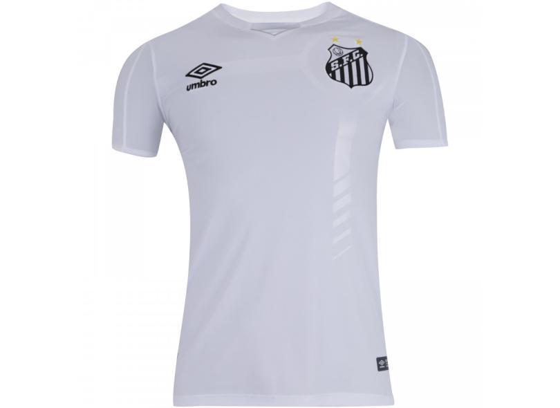 Camisa Torcedor Santos I 2019/20 Umbro