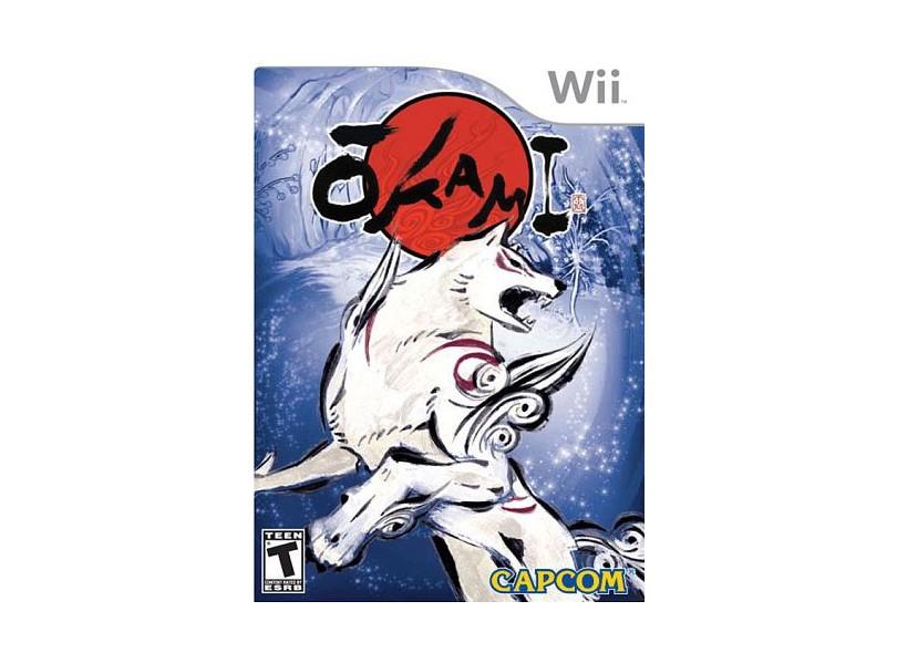 Jogo Okami Capcom Wii