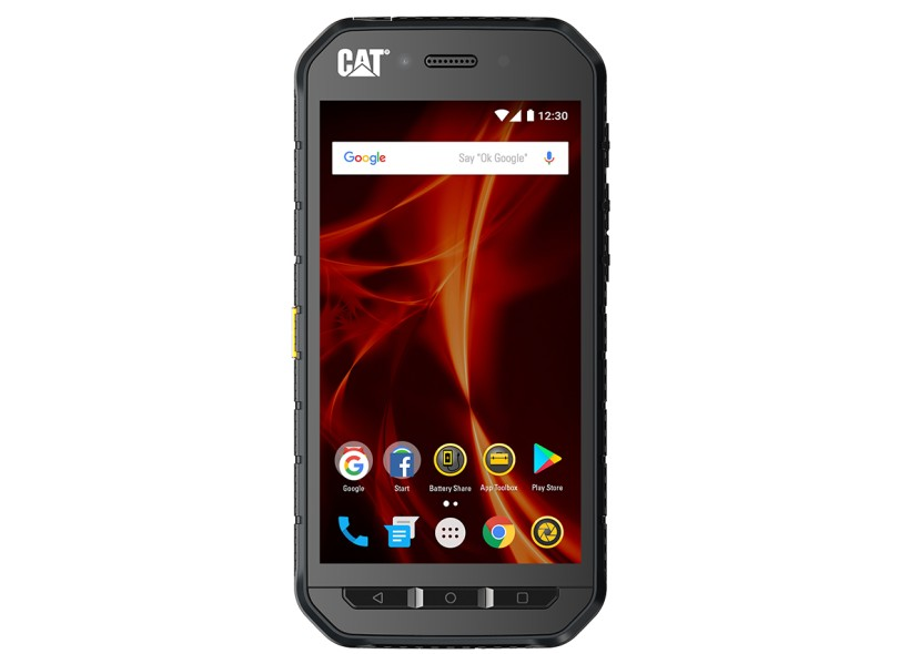 Smartphone Caterpillar Duos S41 32GB 13.0 MP 2 Chips Android 7.0 (Nougat) 3G 4G Wi-Fi