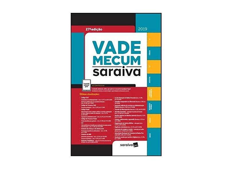 Vade Mecum Saraiva - Vários Autores - 9788553603299
