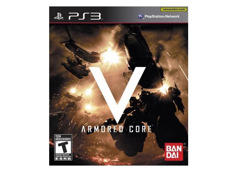 Jogo Armored Core V Bandai PlayStation 3