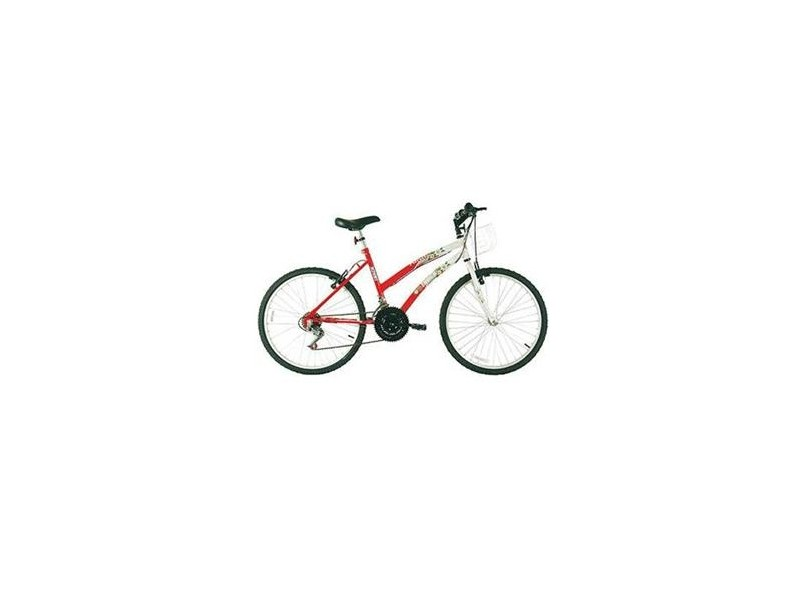 Bicicleta Track & Bikes Parati Vermelho 18 Marchas