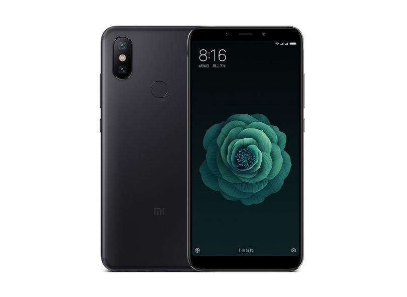 Smartphone Xiaomi Mi A2 64GB 12.0 MP 2 Chips Android 8.1 (Oreo) 3G 4G Wi-Fi