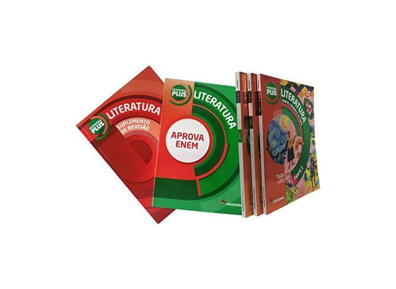 Moderna Plus. Tempos, Leitores e Leituras - Maria Luiza M. Abaurre - 9788516097165