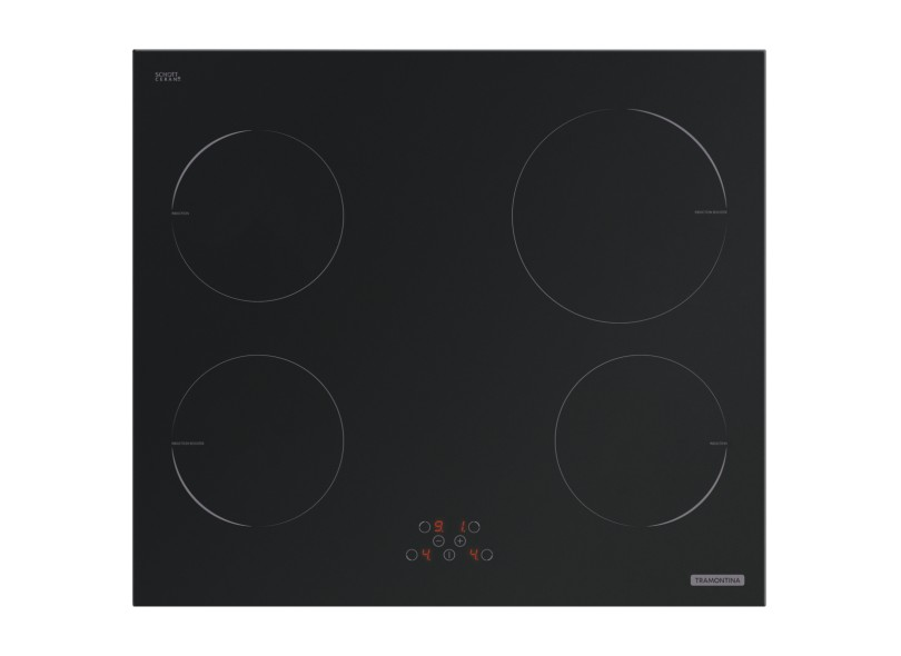 Cooktop Tramontina New Square Touch 4 Bocas 4EI 60