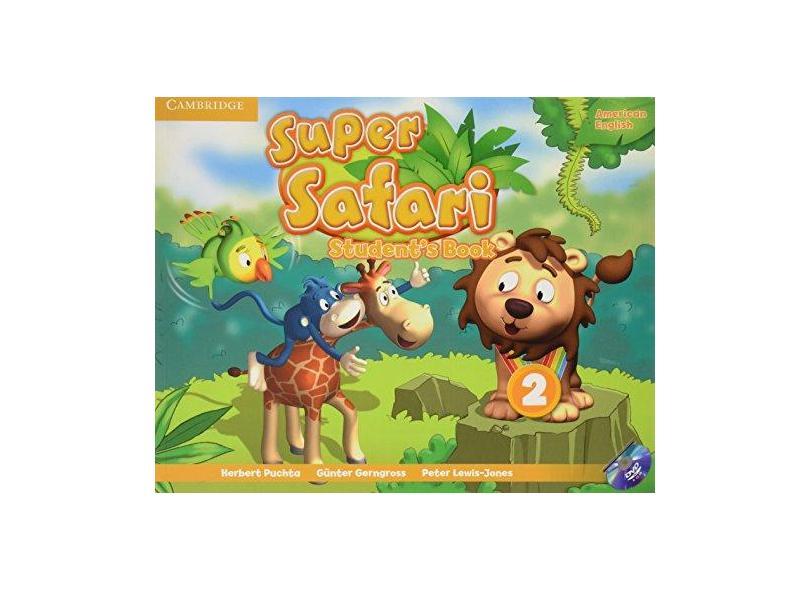 Super Safari 2 Amer Eng Sb W/Dvd Rom - Cambridge - 9781107481909