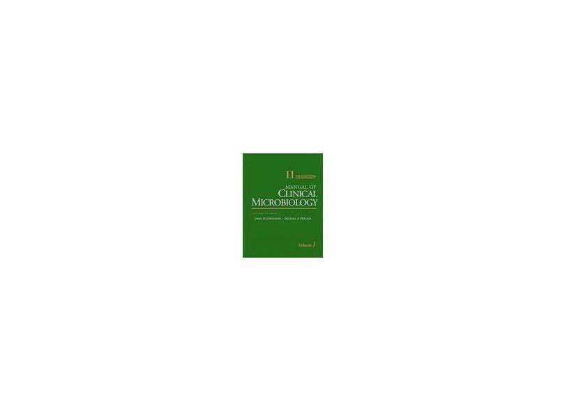 MANUAL OF CLINICAL MICROBIOLOGY 2 VOLS - James H. Jorgensen (editor), Michael A. Pfaller (editor) - 9781555817374