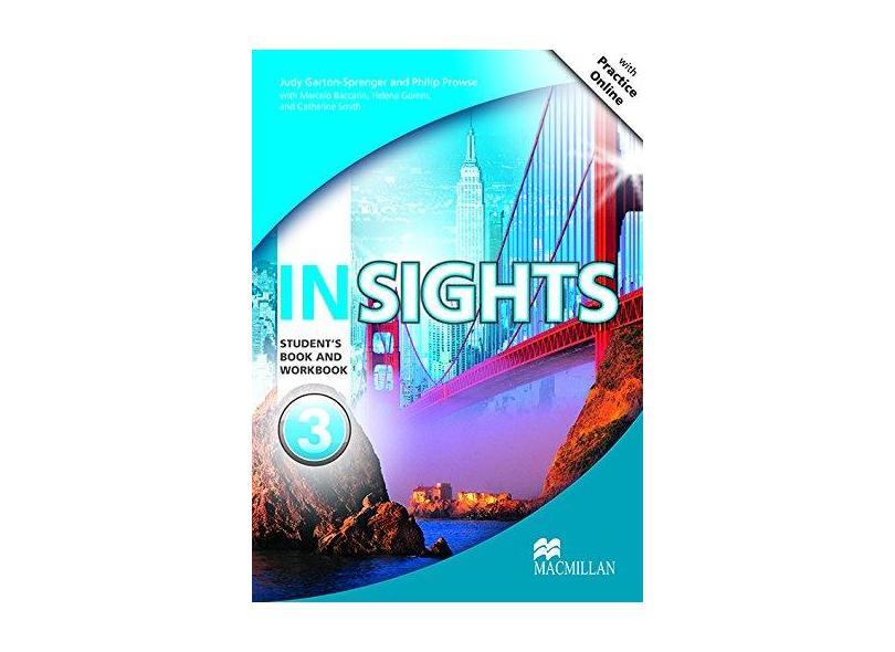 Promo-Insights Student's Book With Workbook & Mpo-3 - Garton-sprenger,judy - 9786685727623