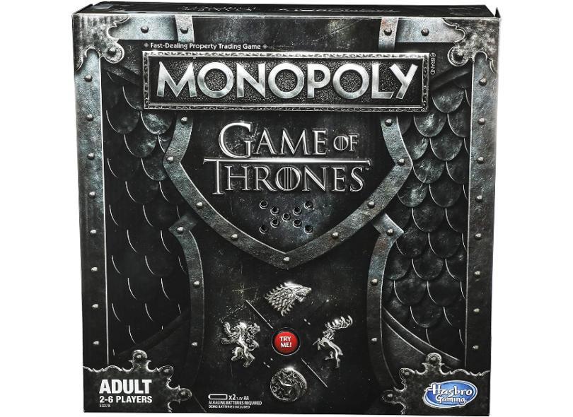 Jogo Monopoly Game Of Thrones Hasbro
