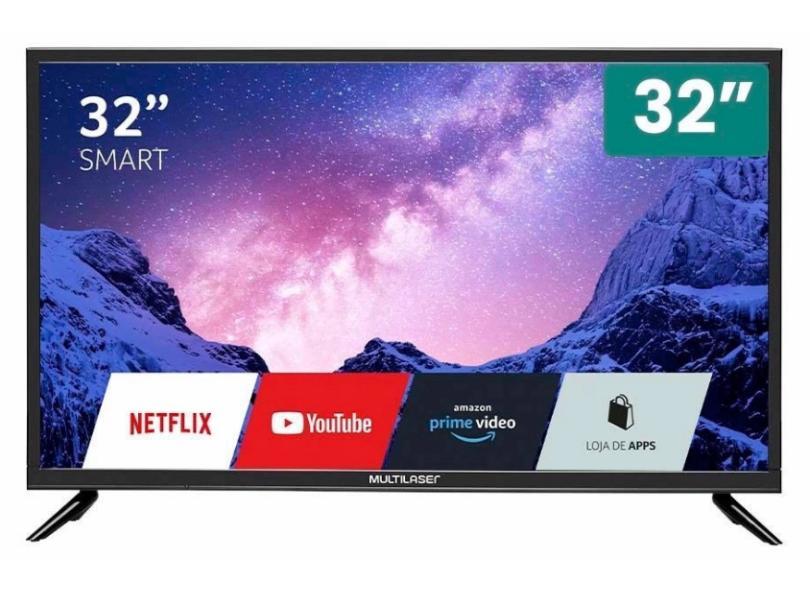 """Smart TV TV LED 32 """" Multilaser TL036 2 HDMI"""