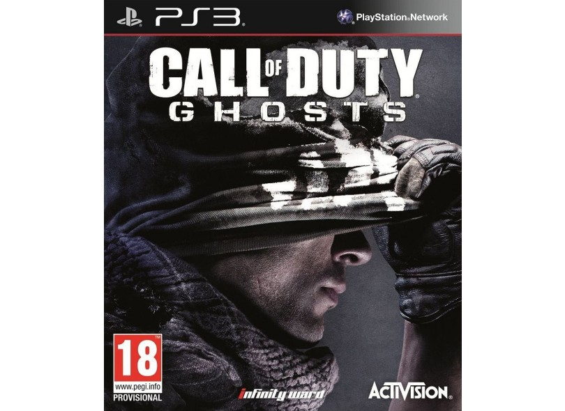 Jogo Call of Duty Ghosts PlayStation 3 Activision