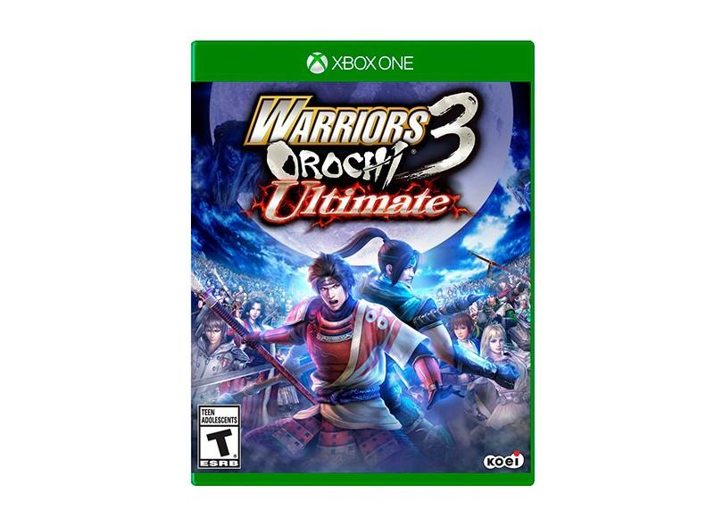 Jogo Warriors Orochi 3 Ultimate Xbox One Koei