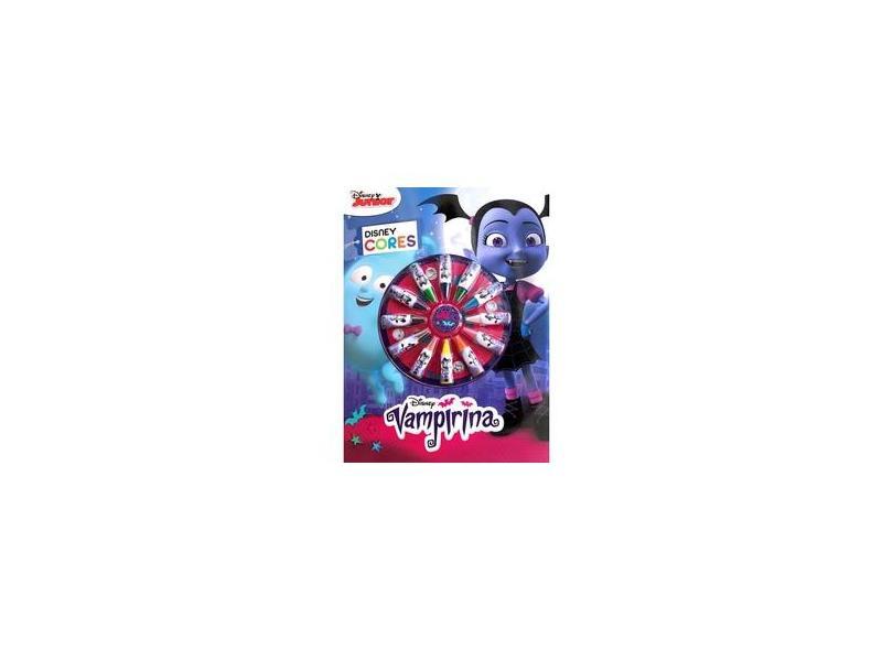 Cores - Vampirina - Disney - 9788536823676