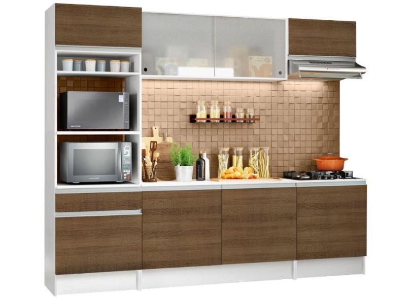Cozinha Completa 8 Portas 1 Gaveta Topazio Madesa