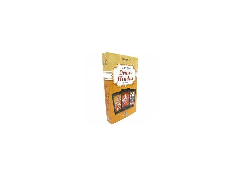 Tarot dos Deuses Hindus - Acompanha 38 Cartas - Simão, Tina - 9788598736259