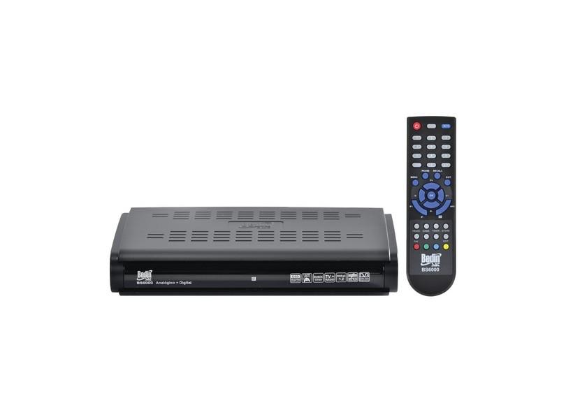 Receptor de TV Digital BS6000 BedinSat