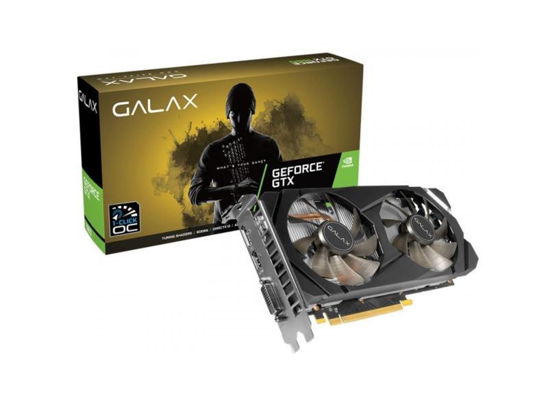 Placa de Video NVIDIA GeForce GTX 1660 6 GB GDDR5 192 Bits Galax 60SRH7DSY91C