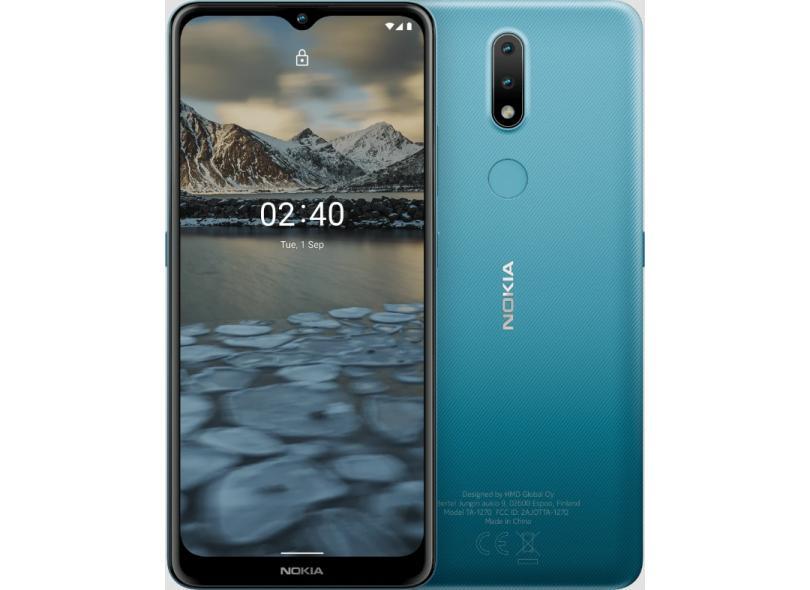 Smartphone Nokia 2.4 Nk015 64GB Câmera Dupla 2 Chips Android 11