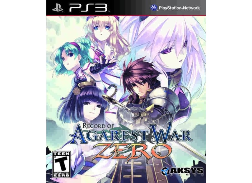 Jogo Record of Agarest War Zero Collection Aksys PS3