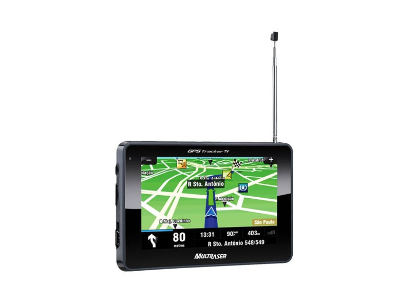 "GPS Automotivo Multilaser 4.3"" Touchscreen GP012"