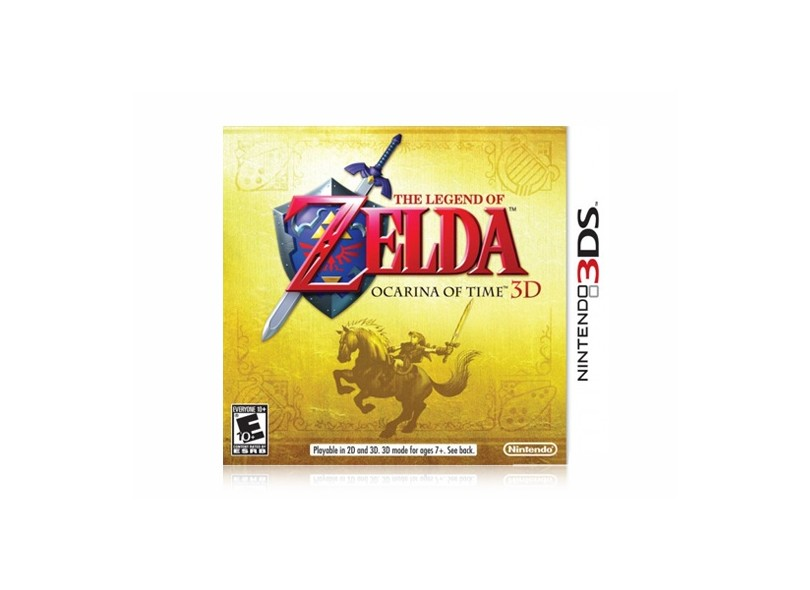 Jogo The Legend of Zelda Ocarina of Time Nintendo N3DS