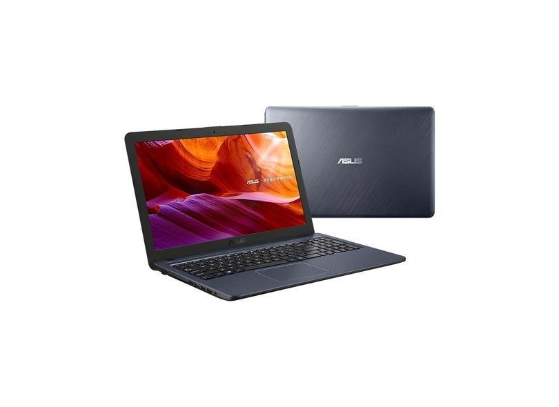 """Notebook Asus VivoBook Intel Core i3 6100U 6ª Geração 4 GB de RAM 256.0 GB 15.6 """" Windows 10 X543UA-GQ3430T"""