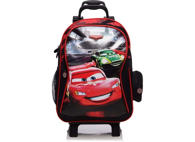 Mochila com Rodinhas Escolar Dermiwil Carros Racing G