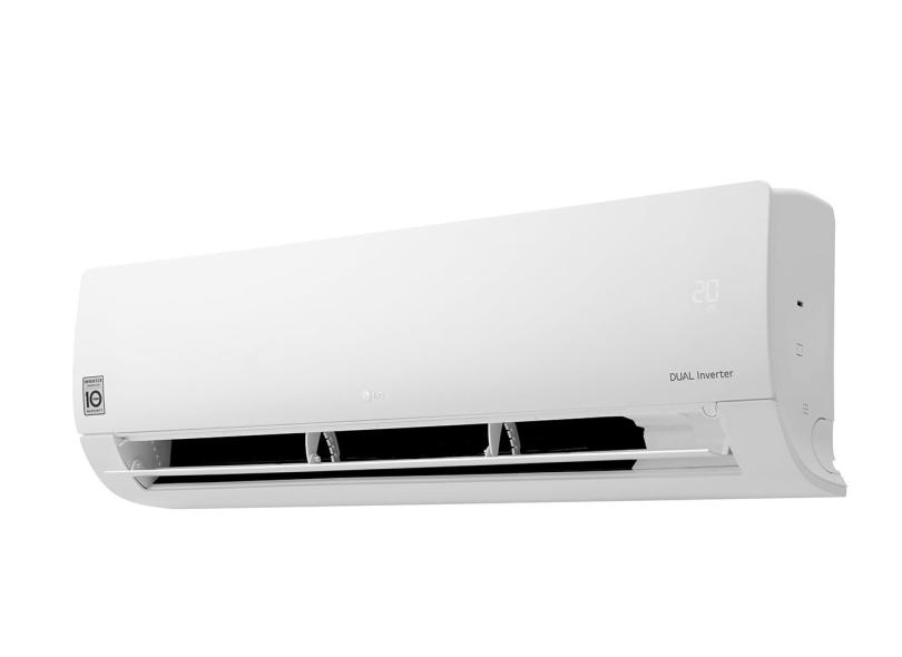 Ar Condicionado Split Hi Wall LG Dual Inverter 12000 BTUs Inverter Controle Remoto Frio S4-Q12JA3WC