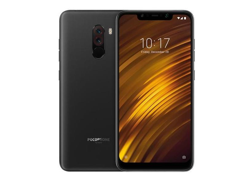 Smartphone Xiaomi Pocophone F1 128GB Qualcomm Snapdragon 845 12,0 MP 2 Chips Android 8.1 (Oreo) 3G 4G Wi-Fi