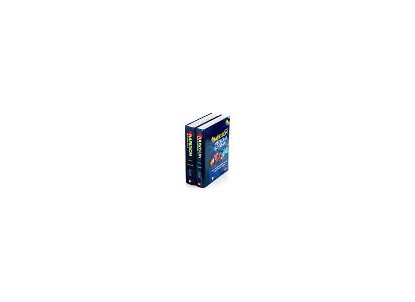 Harrison. Medicina Interna - 2 Volumes - Capa Comum - 9788577260492