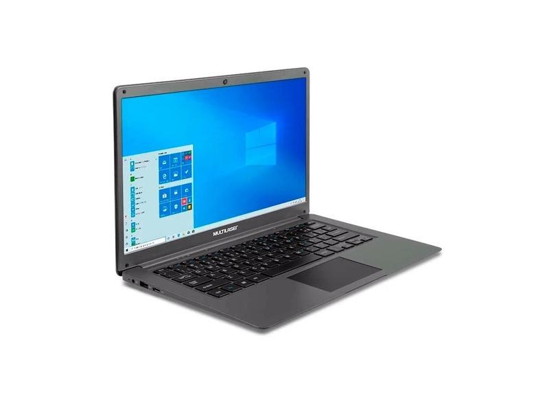 "Notebook Multilaser Legacy Cloud Intel Atom 2 GB de RAM 32.0 GB 14 "" Windows 10 Legacy Cloud PC130"