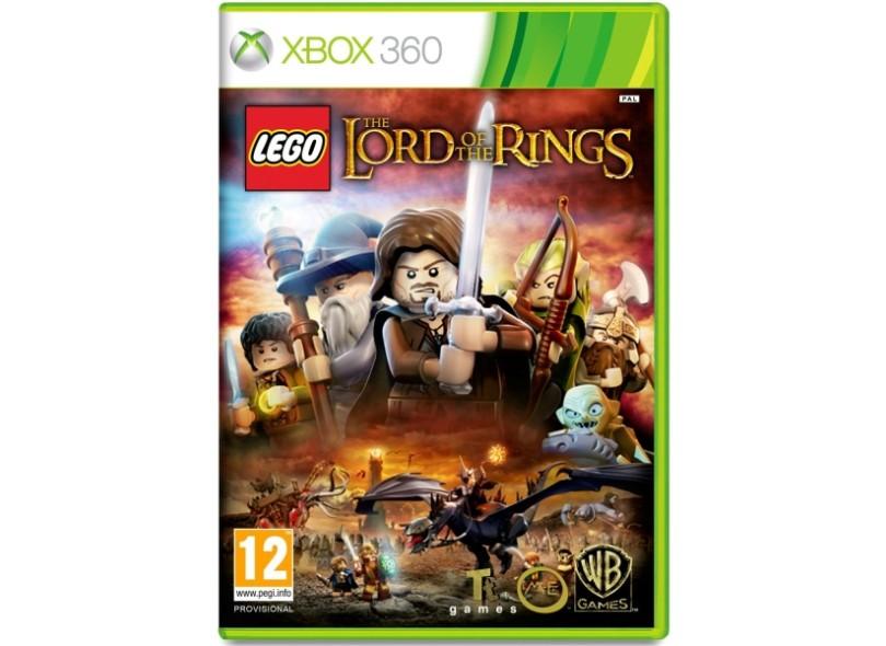 Jogo Lego Senhor Dos Anéis Warner Bros Xbox 360