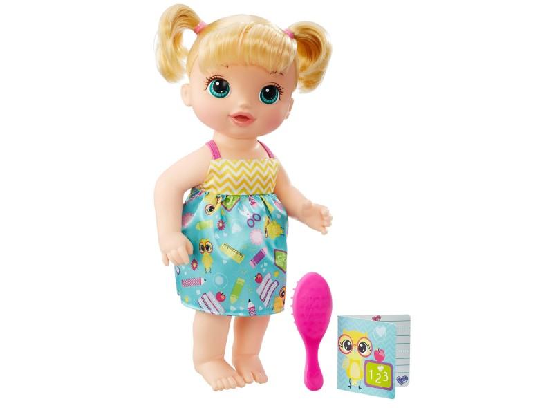 Boneca Baby Alive Escolinha Hasbro