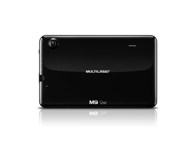 "Tablet Multilaser M9 8.0 GB LCD 9 "" Android 4.4 (Kit Kat) NB172"