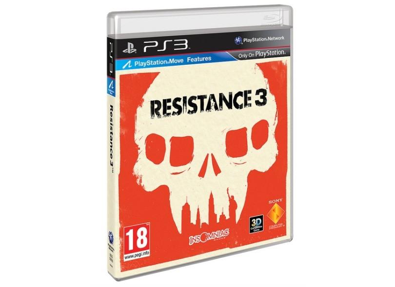 Jogo Resistance 3 Sony PS3