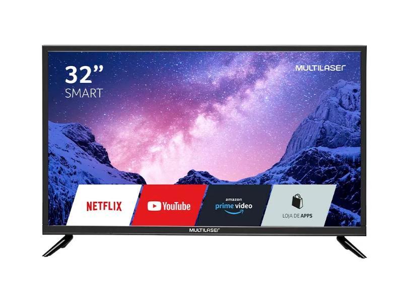 """Smart TV TV LED 32 """" Multilaser TL020 3 HDMI"""