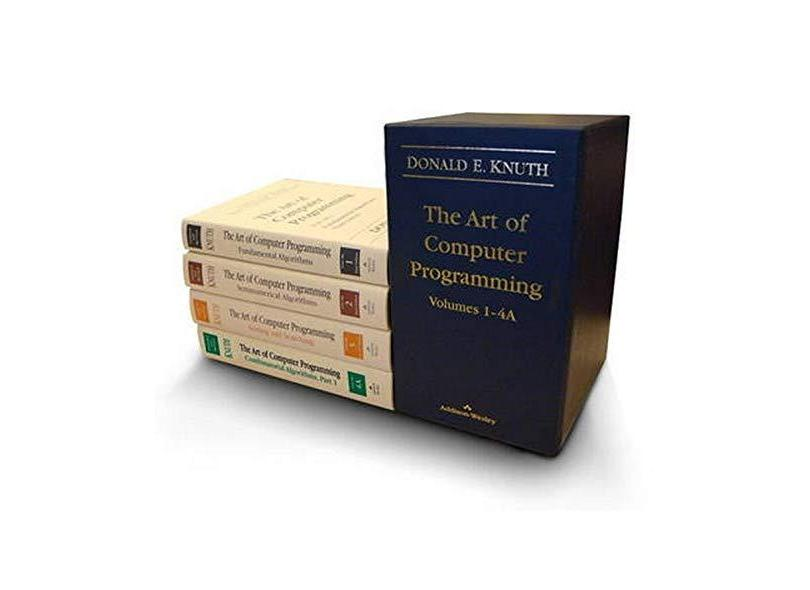 The Art of Computer Programming, Volumes 1-4a Boxed Set - Donald E. Knuth - 9780321751041