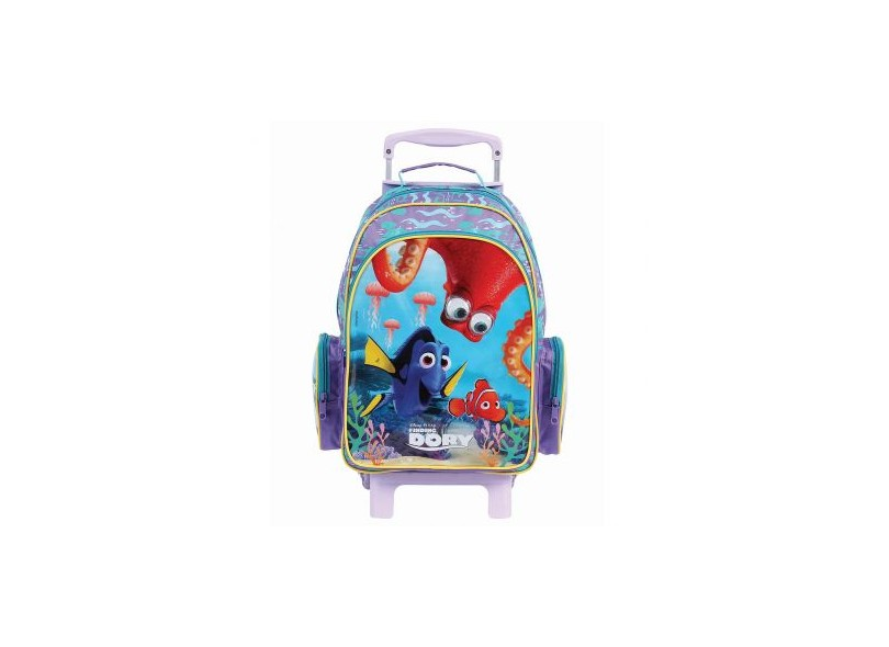 Mochila com Rodinhas Escolar Dermiwil Disney Procurando Dory G 37085