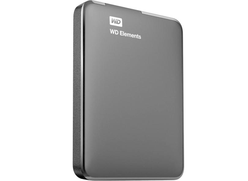 HD Externo Portátil Western Digital Elements WDBUZG0010BBK 1024 GB