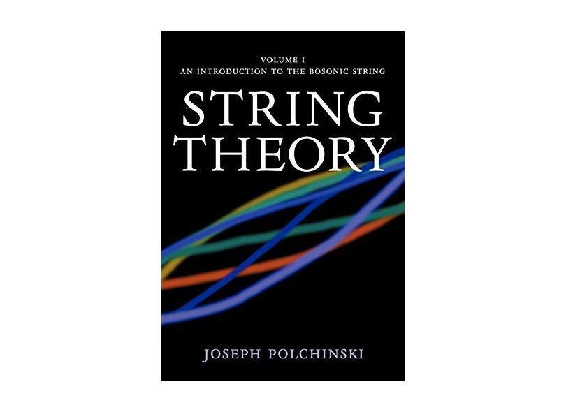 """String Theory V. 1 - """"polchinski, Joseph"""" - 9780521672276"""