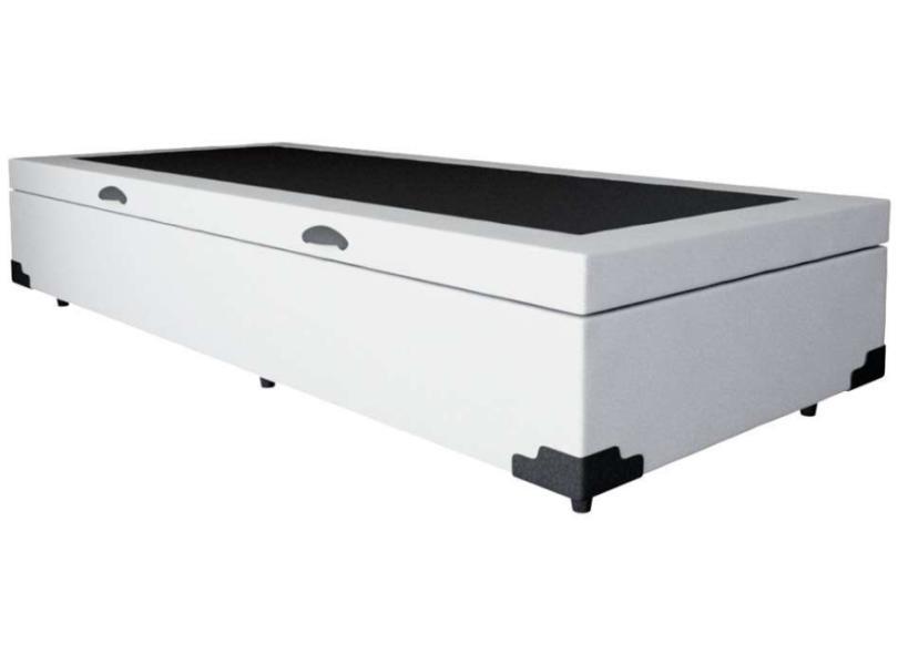 Cama Box Solteiro com Colchão com Baú Veneza & Premium Mobly