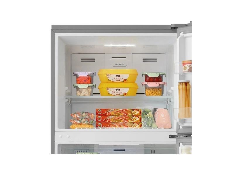 Geladeira Midea Frost Free Duplex 425.0 l Inox MD-RT453FGA